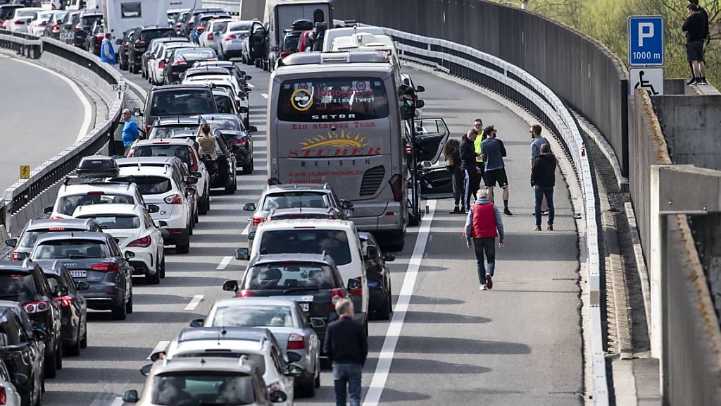 Mehr Verkehr und Staus auf Autobahnen im Jahr 2019