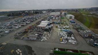 Die Quellensteuern von über tausend Mitarbeitern auf der Biogen-Baustelle füllen die Kasse der Gemeinde Luterbach. Hansjörg Sahli