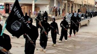 ISIS-Milizen in Syrien (Archiv)