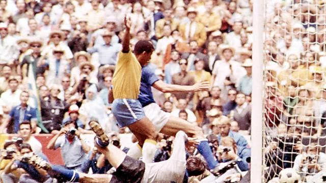 Jairzinho traf im Final 1970 zum 3:1 für Brasilien