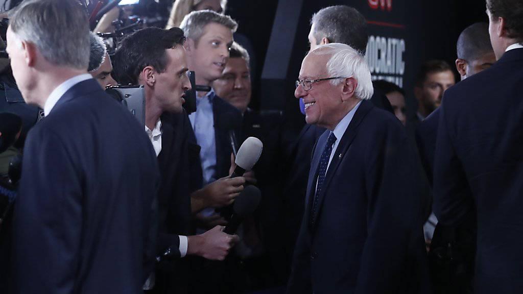 Verteidigte seine Idee einer staatlichen Krankenversicherung: Senator Bernie Sanders.