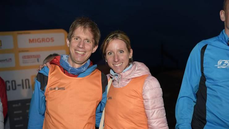 Die glücklichen Gewinner: Klaas Puls aus Zofingen und Sarah Friedli aus Roggliswil.