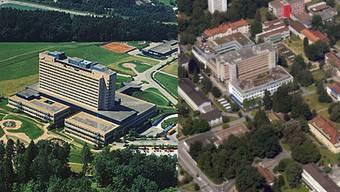 Die Kantonsspitäler Baden und Aarau machen künftig gemeinsame Sache und werden so zum Kantonsspital Aargau