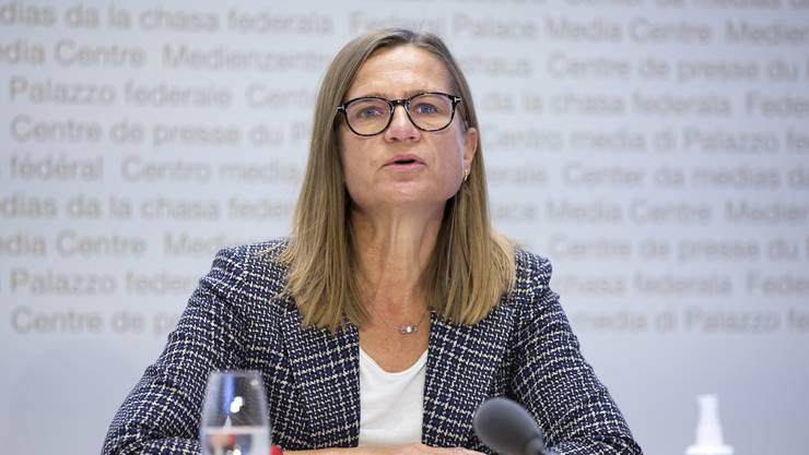 Virginie Masserey, Leiterin der Sektion Infektionskontrolle beim BAG.