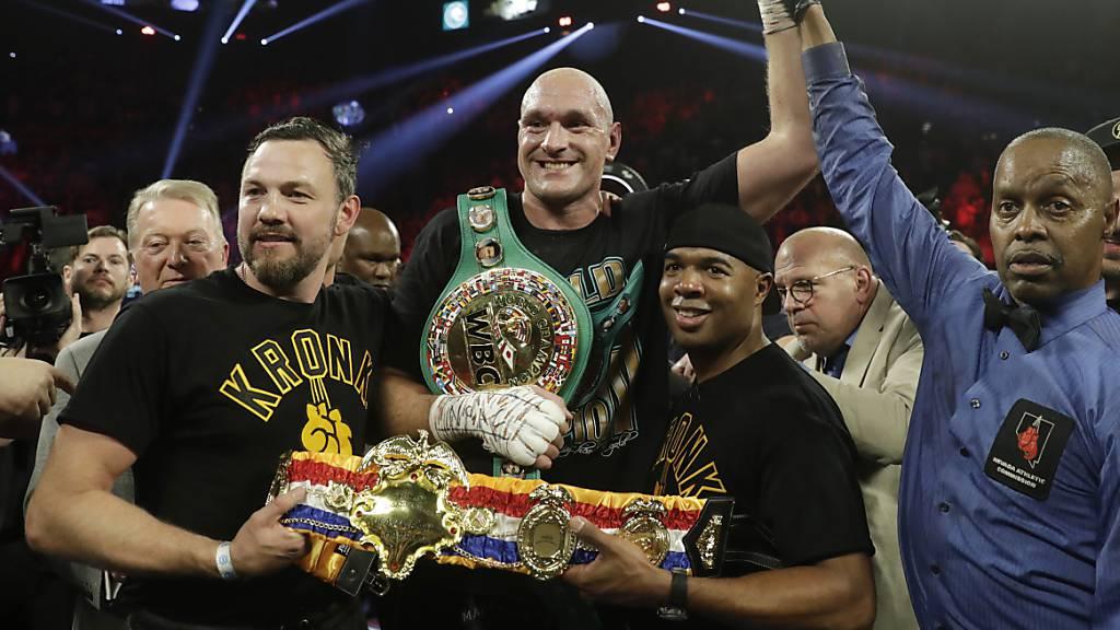 Fury entthront Wilder als WBC-Schwergewichts-Weltmeister