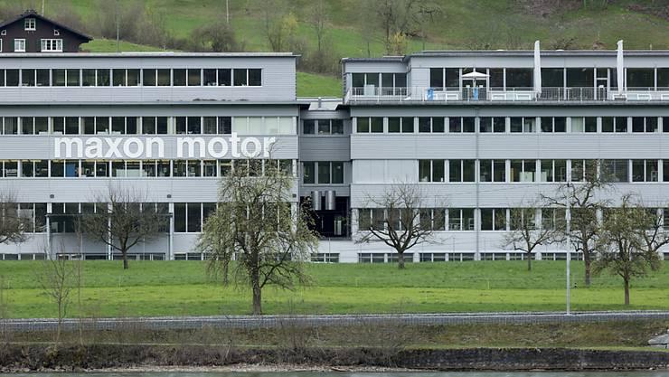 Rekordumsatz für den Obwaldner Motorenbauer: Sitz von Maxon in Sachseln. (Archiv)
