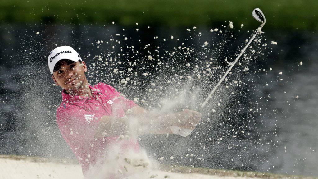 Der Australier Jason Day (28) steht an der Spitze der Golf-Weltrangliste und ist damit ein heisser Anwärter auf den Sieg beim 80. US Masters in Augusta