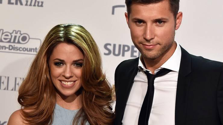 Frisch verheiratet: Schlagersängerin Vanessa Mai und ihr Manager Andreas Ferber. (Archivbild)