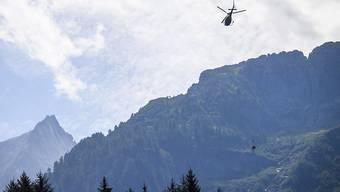 Die Suche nach Vermissten im Bondasca-Tal geht am Freitag weiter (Archivbild).