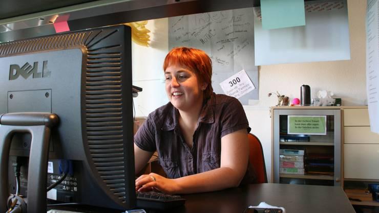 Esther Burri: Nimmt kein Blatt vor den Mund, wenn sie Konzertberichte verfasst. (som)