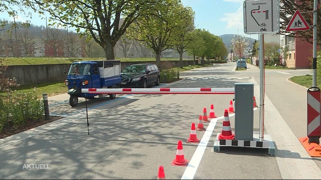 Barrieren-Knatsch in der Stadt Olten