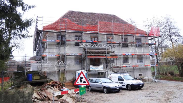 Die Villa Kym in Möhlin wird saniert und in eine Seniorenresidenz umgebaut