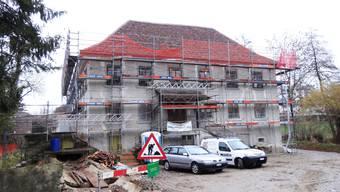 Die Villa Kym in Möhlin wird in eine Seniorenresidenz umgebaut.