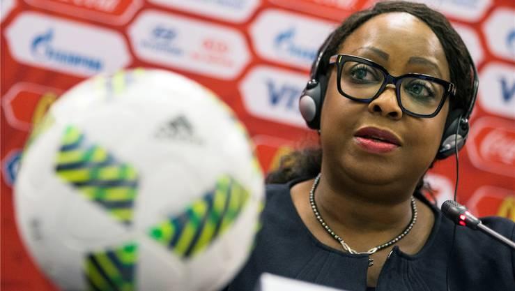 Fifa-Generalsekretärin Fatma Samoura ist eine der wenigen Frauen in der Chefetage.