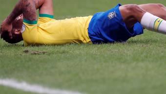 Brasilien (hier Gabriel Jesus) enttäuscht in seinem zweiten Spiel der Copa America
