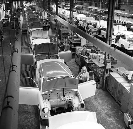 Der erste Kleinwagen Trabant aus der DDR ist am 07.11.2017 vor 60 Jahren vom Band gelaufen.