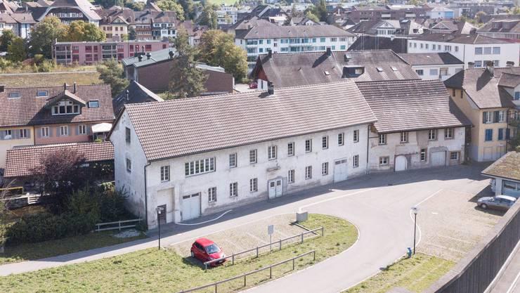 Die ehemalige Textilfabrik Bleiche soll saniert werden.