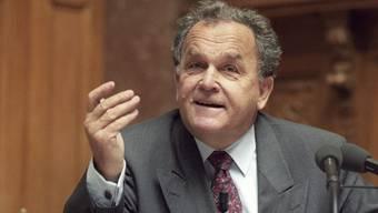 Alt Bundesrat Otto Stich ist tot