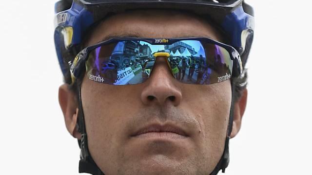 Oliver Zaugg auf 5. Etappe der Baskenland-Rundfahrt schwer gestürzt