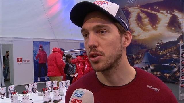Carlo Janka im Olympia-Team