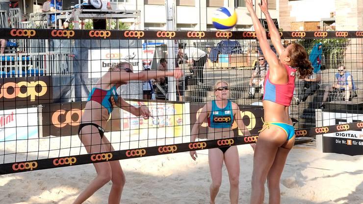 Die Coop Beachtour garantiert auch im Sommer 2015 für Spektakel
