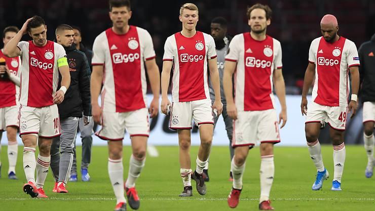 Trotz Tabellenführung beim Abbruch der Meisterschaft: Ajax Amsterdam erhält den Titel als niederländischer Meister nicht