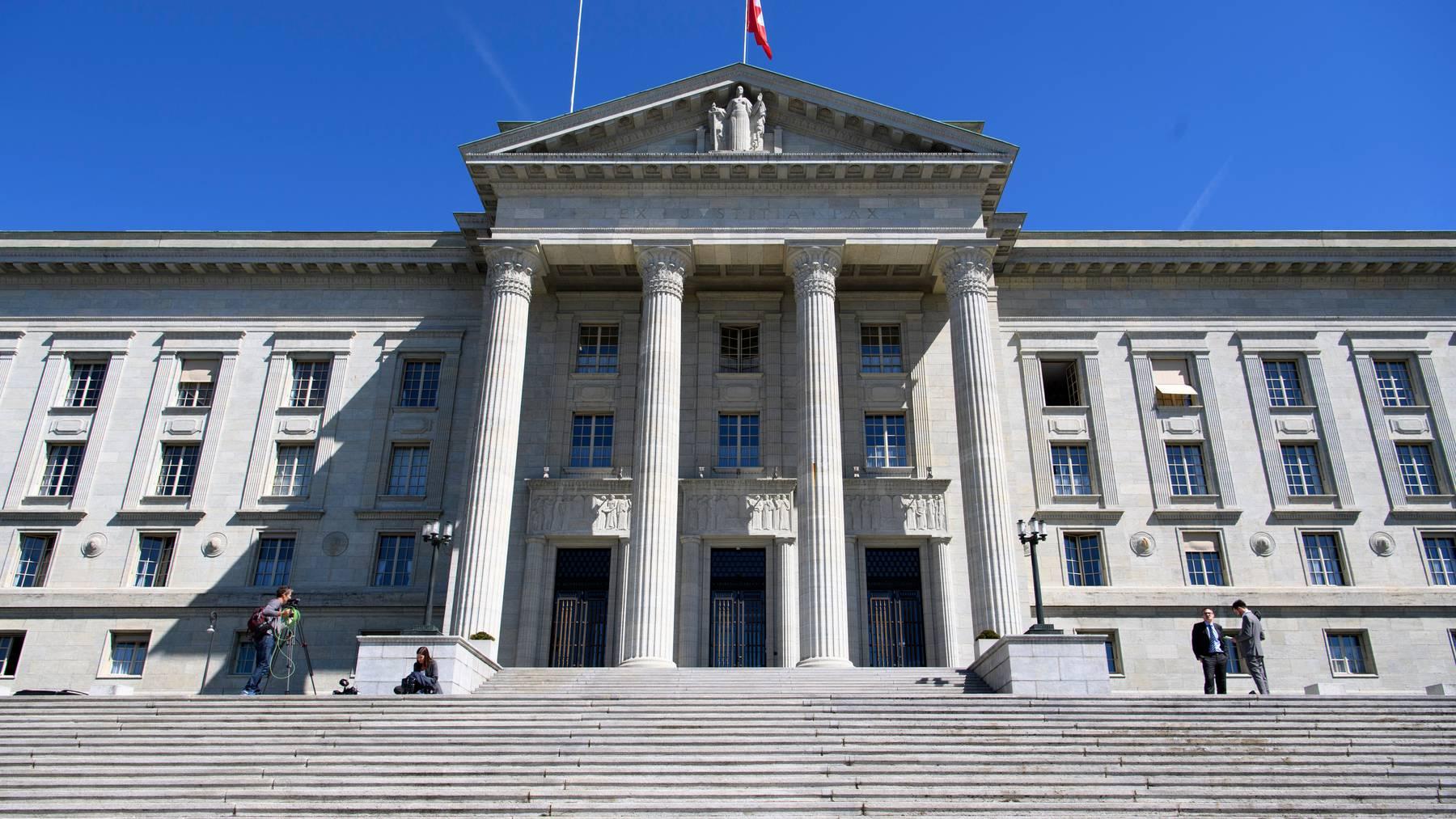 Das Bundesgericht in Lausanne. Hier wurde der Streit um die Unterhaltszahlungen verhandelt.