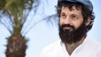 """Der ungarische Schauspieler Geza Rohrig, der die Hauptrolle spielt im Palmen-Anwärter """"Son of Saul"""" beim 68. Filmfestival Cannes (Archiv)"""