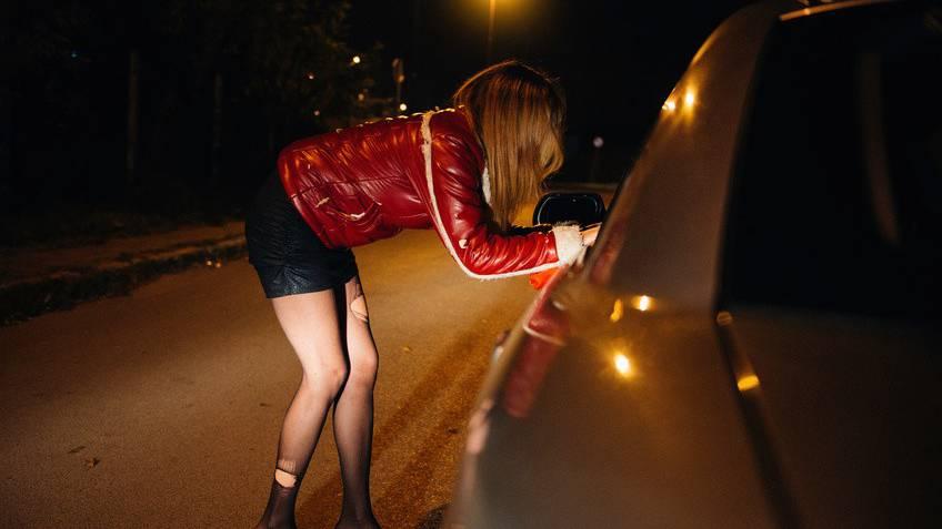 Prostituierte auf dem Strassenstrich verprügelt