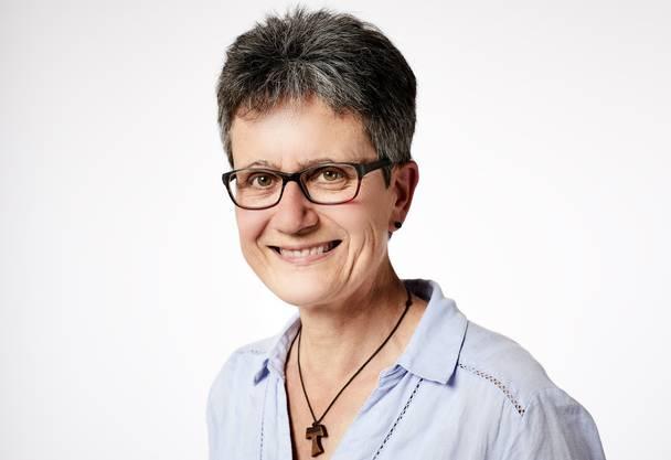 Monika Bosshard aus Winterthur (Zürich) spendet ihre Niere.