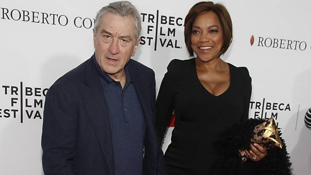 Robert de Niro mit Grace Hightower am Tribeca Film Festival