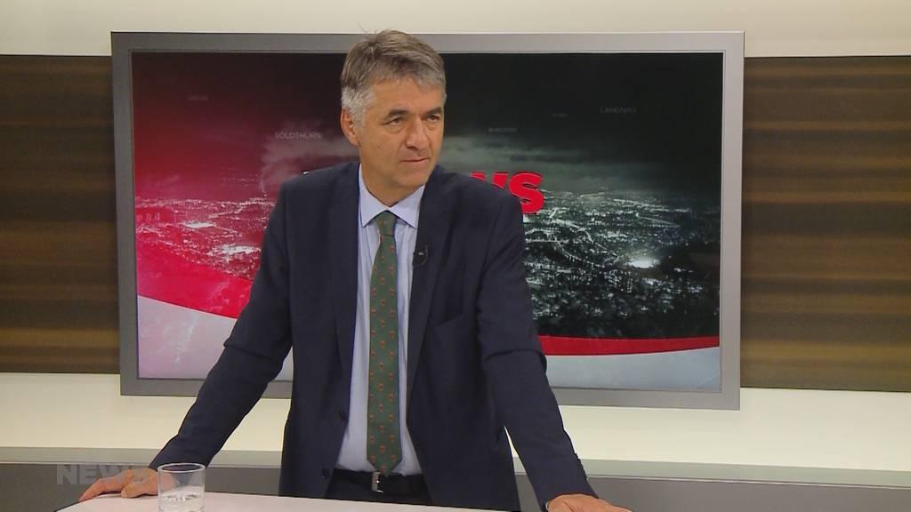 Stadtpräsident Alec von Graffenried äussert sich zur Klima-Demonstration
