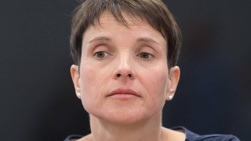 ARCHIV - Frauke Petry, frühere Bundesvorsitzende der AfD. Foto: Sebastian Kahnert/zb/dpa