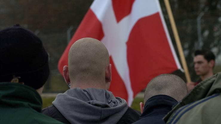 Tummelfeld für rechtsextremes Gedankengut: eine Veranstaltung der Pnos, der Partei national orientierter Schweizer.