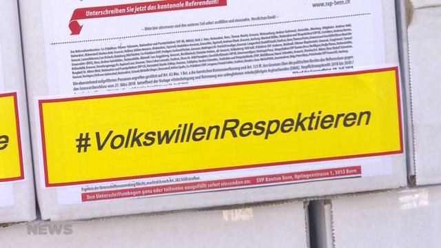 Bern stimmt nochmals über Asyl-Millionen ab