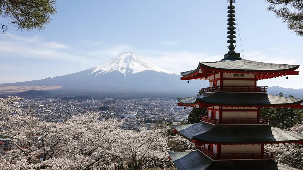 Fitch senkt Rating-Ausblick für Japan auf «negativ»