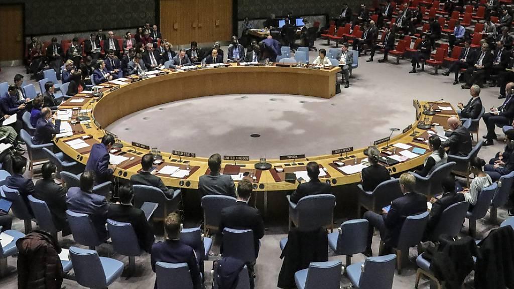 Uno-Sicherheitsrat diskutiert zum ersten Mal per Videoschaltung