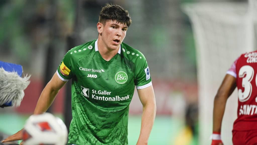 Alessio Besio hat beim FC St.Gallen noch einen Vertrag bis 2023.