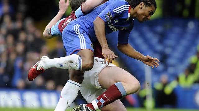 Chelsea und Aston Villa lieferten sich ein packendes Duell