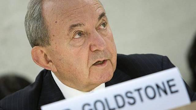 Richard Goldstone vor dem UNO-Menschenrechtsrat