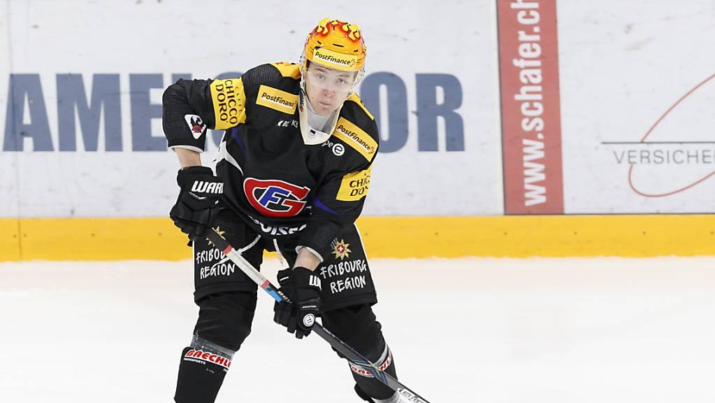 Fribourg-Gottéron – hier Topskorer Killian Mottet – hat als einziges Schweizer Team das Weiterkommen in der Champions Hockey League schon auf sicher.