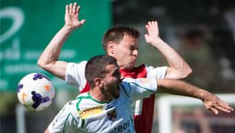 Andreas Heiniger und sein FC Solothurn kämpften sich zurück ins Spiel.
