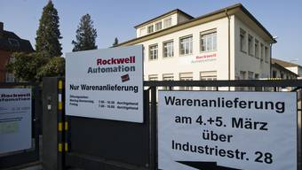 Rockwell Automation in Aarau.