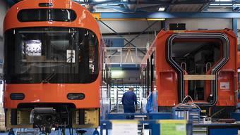 Stadler will einen mit Wasserstoff betriebenen Zug entwickeln. (Archivbild)