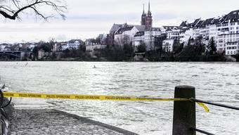 Hochwasser in Basel nach «Burglind»