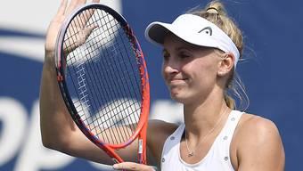 Jil Teichmann steht am WTA-Turnier in Linz in der Hauptrunde
