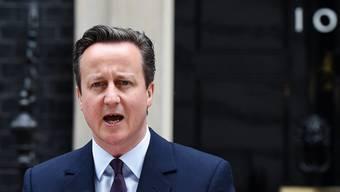 Absage an EU: der britische Premier Cameron