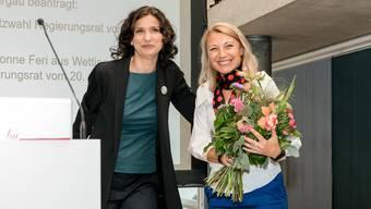 SP Aargau nominiert Yvonne Feri als Regierungsratskandidatin