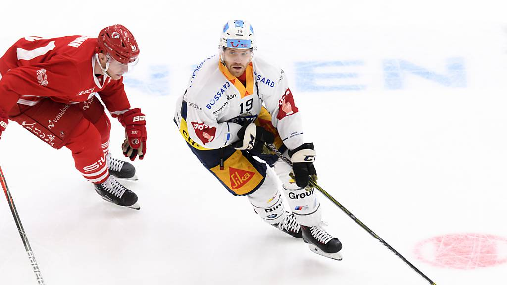 KHL statt EVZ: Oscar Lindberg kehrt Zug den Rücken
