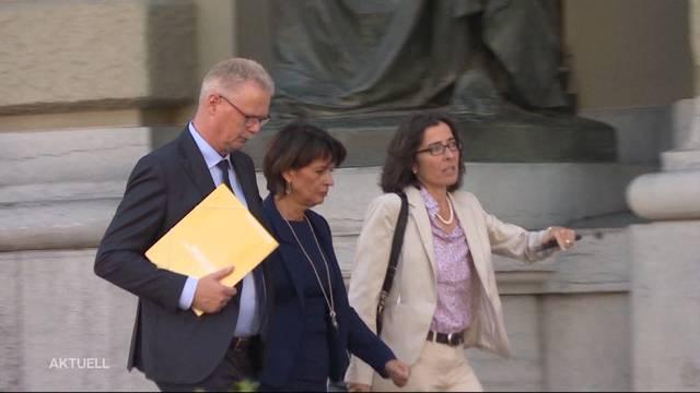 Doris Leuthard tritt als zweite Bundesrätin ab Ende Jahr zurück